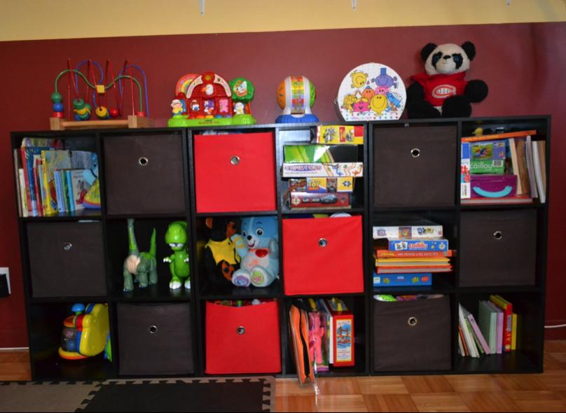 quatre rangements pour salle de jeux utopikidesign. Black Bedroom Furniture Sets. Home Design Ideas